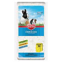 Kaytee Clean&Cozy White Клин&Кози ЧИСТО&УЮТНО БЕЛЫЙ подстилка для птиц и грызунов, целлюлоза