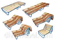 Раскладушка ортопедическая (Евро-трансформер без матраса)