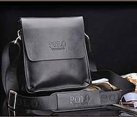 Красивая мужская сумка Polo. Стильная мужская сумка. Сумка через плечо. Барсетка. Сумка для документов.
