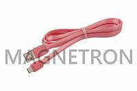 USB дата-кабель (Micro USB) Remax Puff RC-045M L=1000mm к мобильным телефонам (RC-045M-PINK)