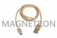 USB дата-кабель (Micro USB) Belkin в оплетке L=1200mm для мобильного телефона