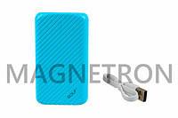Power Bank (внешний аккумулятор) GOLF G20 Li-Polymer 2xUSB 5V 16000mAh