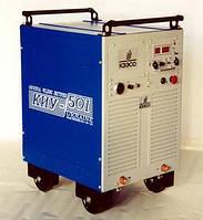 Сварочный выпрямитель КИУ-501 универсальный на колесах (500А)