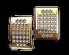 Элегантные серёжки из красного золота Фанагория