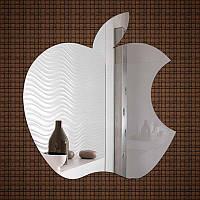Небьющееся акриловое зеркало «Apple», размер 600х650