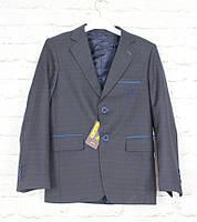Пиджак черный для мальчика 116-140(Турция)