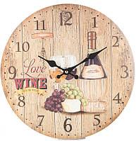 Часы настенные Love Wine