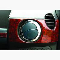 Накладка на вентиляционную створку Fiat Doblo II 2005+ (4шт)