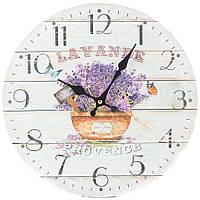 Часы настенные Лаванда Прованса