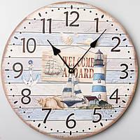 Часы настенные Морской Маяк