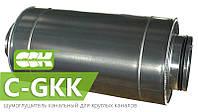 Шумоглушитель трубчатый для круглых каналов C-GKK
