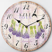 Часы настенные Love Lavender