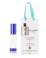 Парфюм-спрей в подарочной упаковке Allure Homme Sport Chanel для мужчин,35 мл