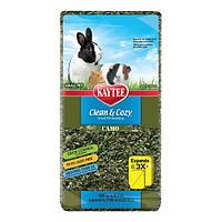 Kaytee Clean&Cozy Camo Клин&Кози ЧИСТО&УЮТНО КАМО подстилка для птиц и грызунов, целлюлоза, камуфляж