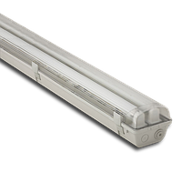 Светильник Atom 746 236 2х1200мм для LED ламп T8 IP65, КОРПУС БЕЗ ЛАМП (ГЕРМАНИЯ)