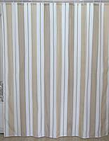 Шторка для ванной вертикальные полоски AWD02100846