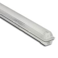 Корпус светильника Atom 742 136 1х1200мм для светодиодных LED ламп T8 IP65 (Германия) промышленный герметичный