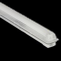 Корпус светильника Atom 741 136 1х1200мм для светодиодных LED ламп T8 IP65 (Германия) промышленный герметичный, фото 1
