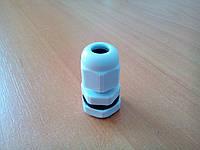 Герметичный кабельный ввод PG7 серый