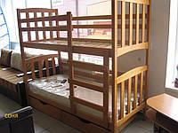 """Кровать двухъярусная деревянная """"Соня"""""""