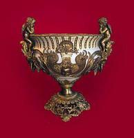 Чаша напольная с элементами бронзы, 50/63/45 см