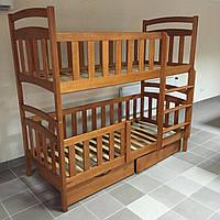 """Кровать двухъярусная деревянная """"Карина Люкс"""""""