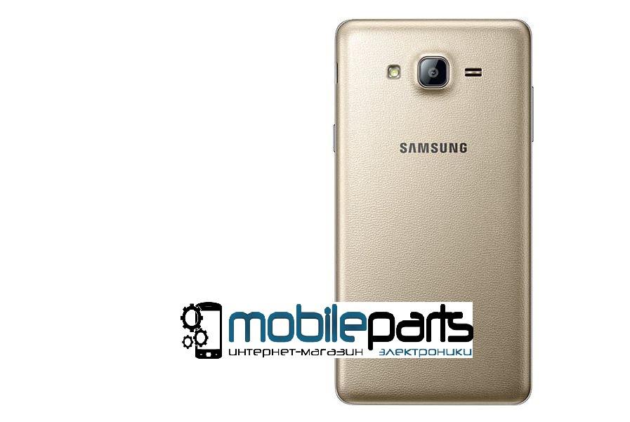 Задняя панель корпуса (крышка) для Samsung Galaxy J2 Duos J200 (Качество ААА) (Золотая)