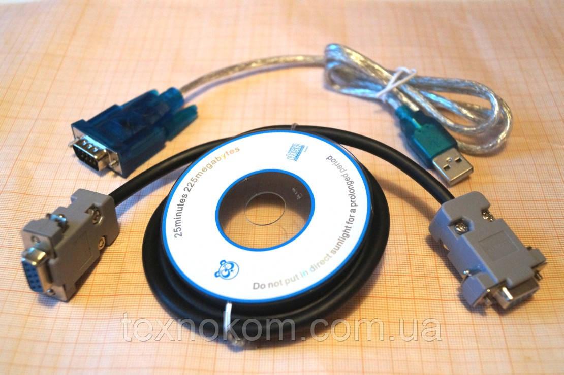 Переходник RS232 COM-порт на USB + Нуль модемный кабель - Техноком в Харькове