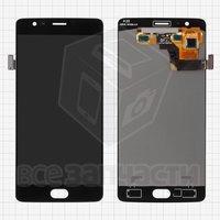 Дисплейный модуль для мобильного телефона OnePlus 3, черный