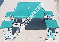 Розкладний стіл і стільці для пікніка, фото 1