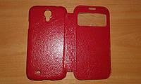 Чехол Книжка Yoobao для Samsung i9500 Galaxy S IV красная с окном