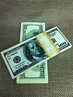 Сувенірні гроші, долари номіналом 50$ і 100$