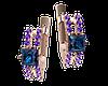 Золотые серьги Виола