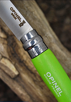 Нож Opinel №7 InoxI Pop Apple Green  (001425), фото 2