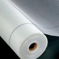 Сетка белая стеклотканевая  армирующая 75г/м2 - 5х5мм ( для внутрених работ )