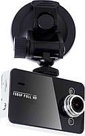 Цифровой автомобильный видеорегистратор Full HD Vehicle BlackBox DVR K6000
