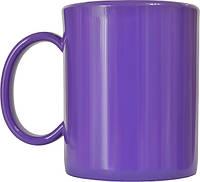 Чашка из поликарбоната Фиолетовая  под нанесения логотипа, чашка с логотипом