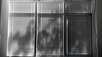 Горизонтальные жалюзи на окна белые 25/16 мм