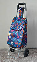 Хозяйственная сумка - тележка на колесиках с цельнометаллическим каркасом.