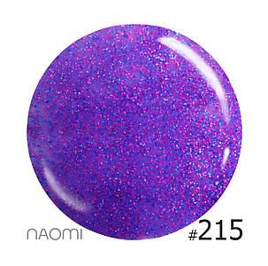 """Гель-лак Naomi """"Let's go party"""" №215"""