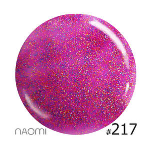 """Гель-лак Naomi """"Let's go party"""" №217"""