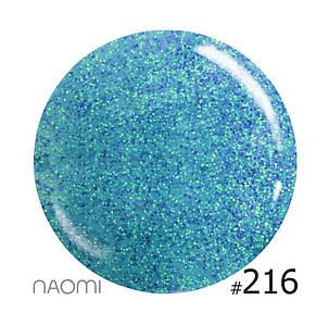 """Гель-лак Naomi """"Let's go party"""" №216"""