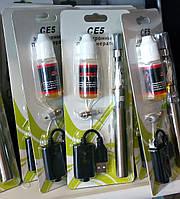 Электронная сигарета CE5 с жидкостью для заправки и запасным испарителем + USB