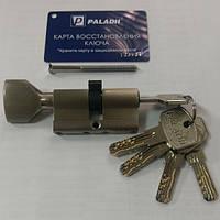 PALADII цилиндр 80мм 35*45 SN латун. с вставкою 5 кл.