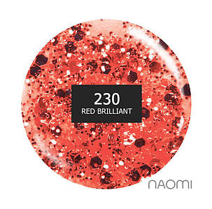 """Гель-лак Naomi """"Gel polish brilliant"""" №230"""