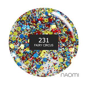 """Гель-лак Naomi """"Gel polish brilliant"""" №231"""