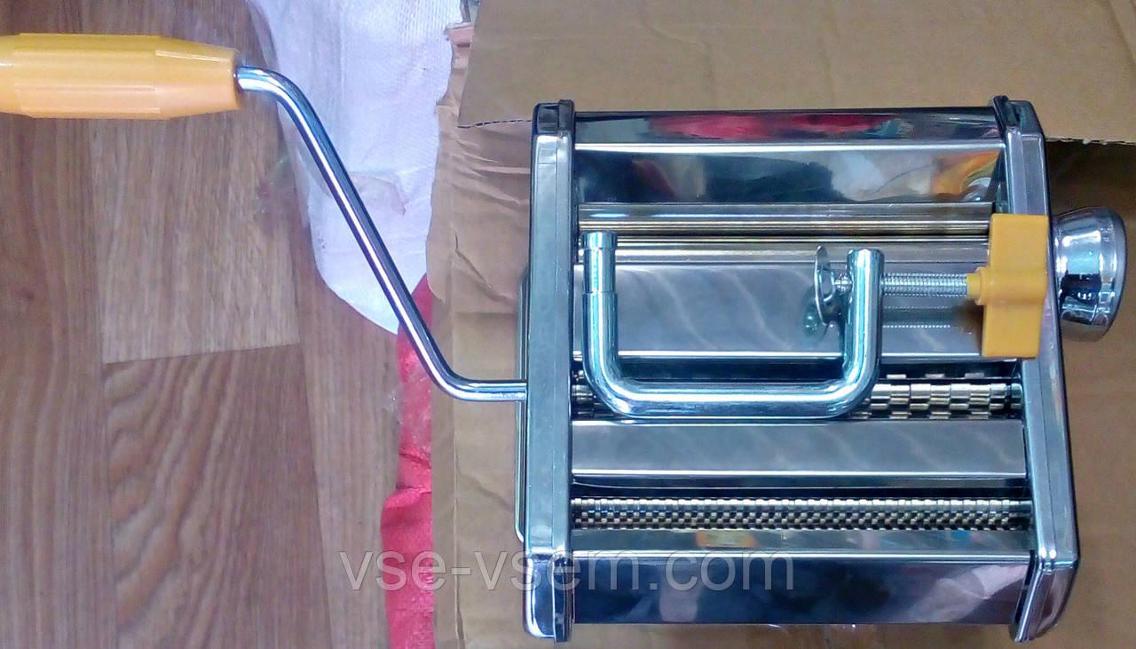 Локшинорізка (тестораскатка) механічне (ручне) для приготування пасти (макаронів)