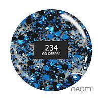 """Гель-лак Naomi """"Gel polish brilliant"""" №234"""