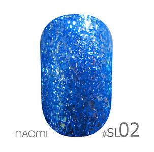 """Гель-лак Naomi """"Selfilluminated colors"""" №2"""