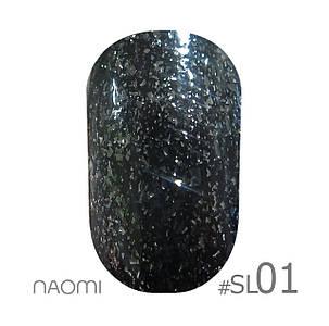 """Гель-лак Naomi """"Selfilluminated colors"""" №1"""